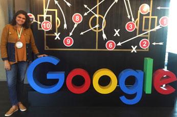 Treinamento de Marketing Digital na sede do Google em São Paulo